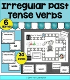 Irregular Past Tense Verb Game - Cut and Play!