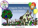 Irregular Past Tense Verb Match (Full Product)