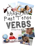 Irregular Past Tense Verb Picture Cards