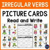 Irregular Past Tense Verbs Speech Therapy Picture Cards