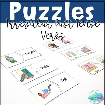 Puzzles for Irregular Past Tense Verb
