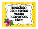 Irregular Past Tense Verb Scavenger Hunt