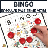 Irregular Past Tense Verbs BINGO