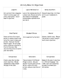 Adjective Project Menu Using Multiple Intelligences