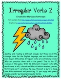 Irregular Past Tense Verbs 2 Card Game