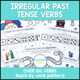 Irregular Past Tense Verbs Speech Therapy