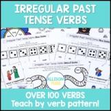 Irregular Past Tense Verbs Speech Therapy