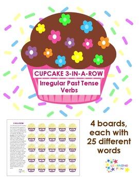 Irregular Past Tense Verbs: 3 in a Row