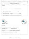 Irregular Past Tense Verbs- Assessment & Matching Cards (L.2.1d)