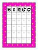 Irregular Past Tense Verbs Bingo