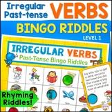 Irregular Past-Tense Verbs Bingo Riddles Level 1
