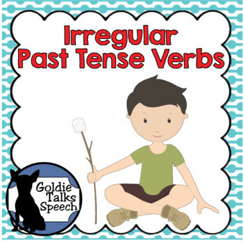 Irregular Past Tense Verbs | Boom Cards | ELA | Speech Therapy