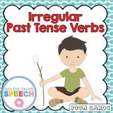 Irregular Past Tense Verb | Boom Cards | ELA | Speech-Language Therapy