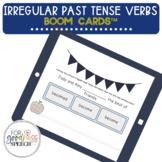 Irregular Past Tense Verbs Boom Cards™ NO PRINT Flashcards
