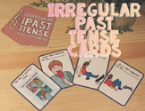 Irregular Past Tense Verbs: Cards! (Actions, Verbs, Speech Therapy)