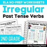 Irregular Past Tense Verbs NO PREP Practice Sheets L.2.1.d