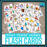 Irregular Past Tense Verbs Flash Cards