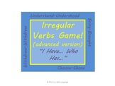 "Irregular Past Tense Verbs Grammar Game ""I have... Who has"