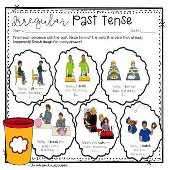 Irregular Past Tense Verbs | Past Tense Verbs | Irregular Verbs | Grammar