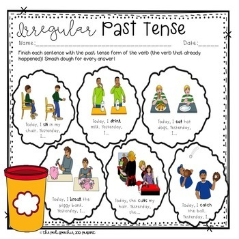 Irregular Past Tense Verbs | Past Tense Verbs | Irregular Verbs | Syntax