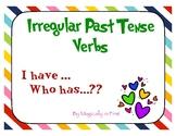 Irregular Past Tense Verbs - I Have
