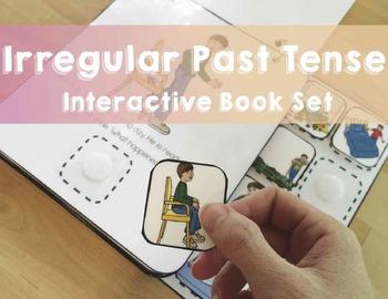 Irregular Past Tense Verbs: Interactive Books! (Actions, S