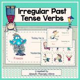 Speech Therapy Irregular Past Tense Verbs K-5th Grade