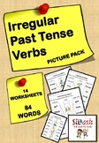 Irregular Past Tense Verbs (Picture Matching Pack)