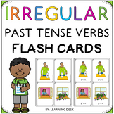 Irregular Past Tense Verbs Speech Therapy Cards (Irregular Verbs Worksheets)