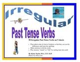 Irregular Past Tense Verbs, Present Tense Verbs, Speech Therapy, Grammar Photos