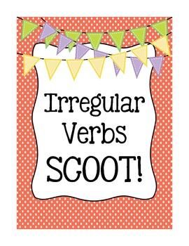 Irregular Past Tense Verbs SCOOT!