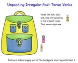 Irregular Past Tense Verbs SMART board lesson CC L.2.1d