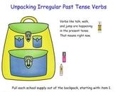 Irregular Past Tense Verbs SMART board lesson CC L.2.1d