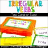 Irregular Past Tense Verbs Task Cards or Scoot