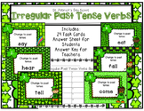Irregular Past Tense Verbs Scoot St. Patrick's Day