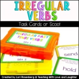 Irregular Past Tense Verbs Scoot or Task Cards