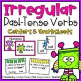 Irregular Past-Tense Verbs Stations