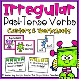 Irregular Past-Tense Verbs Centers and Worksheets