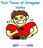 Irregular Past Tense Verbs Test