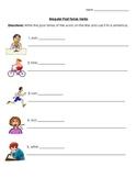 Verbs: Irregular Past Tense Verbs (Use It In A Sentence)