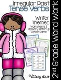Irregular Past Tense Verbs - Winter Themed