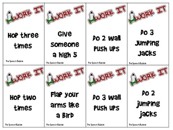 Irregular Past Tense Verbs Workout