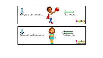 Irregular Past Tense Verbs complete the sentence activity