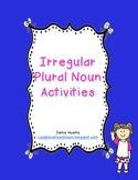 Irregular Plural Noun Activities