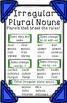 Irregular Plural Noun Anchor Chart