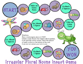 Irregular Plural Noun Game (Insect Theme)