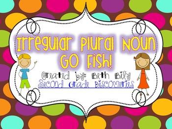 Irregular Plural Noun Go Fish