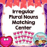 Irregular Plural Nouns Matching/Memory Game