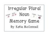 Irregular Plural Noun - Memory Game