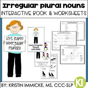 Irregular Plural Noun Practice {Teaching Book & Worksheets}